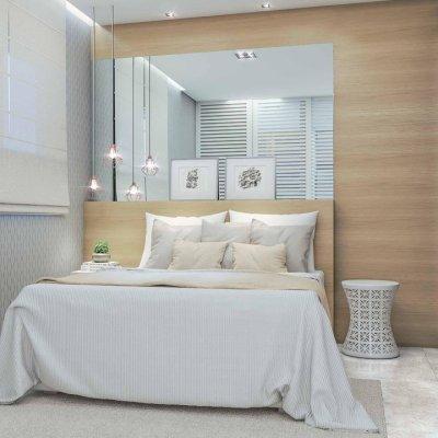 Dormitório do Apartamento de 40m²