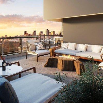 Terraço do Apartamento de 304m²