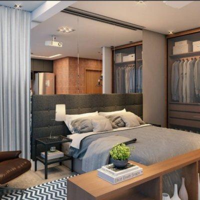 Dormitório do Apartamento de 46m²
