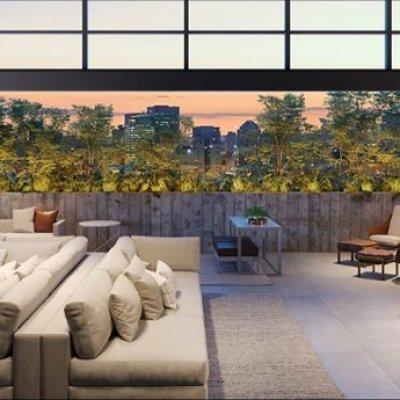Living Cobertura Duplex de 510m²