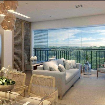 Living do Apartamento de 40m²