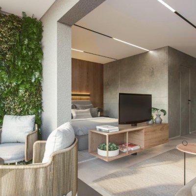 Terraço do Apartamento de 35m²
